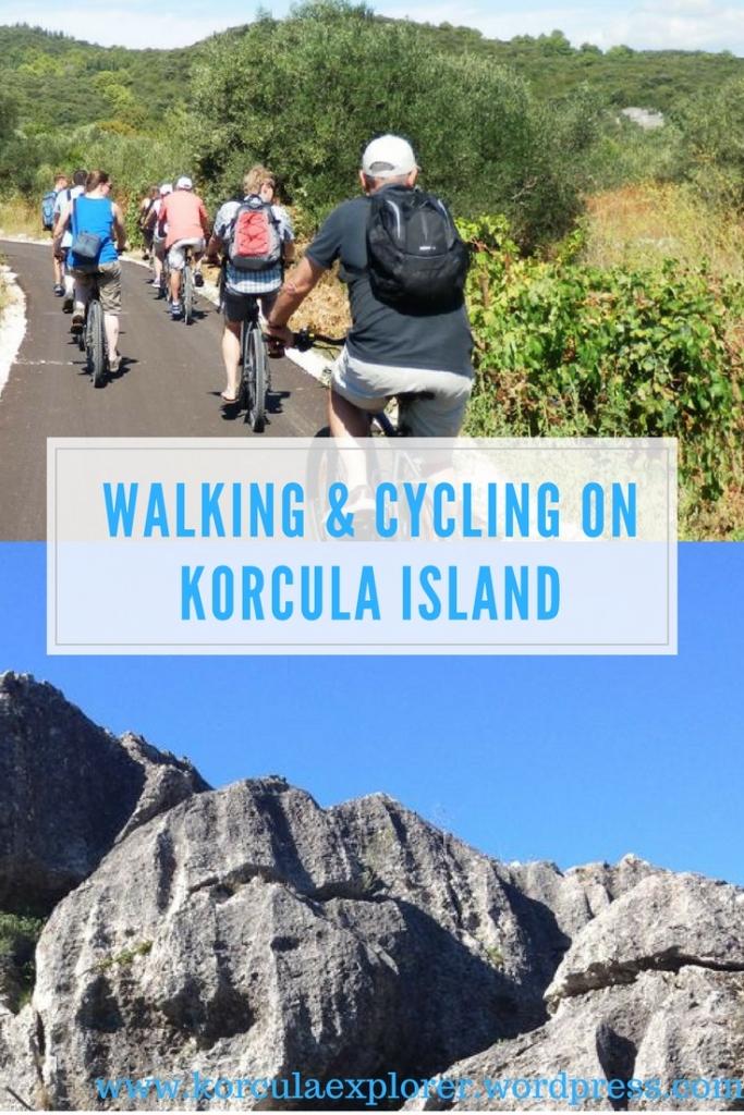 Walking & Cycling Routes on Korcula Island