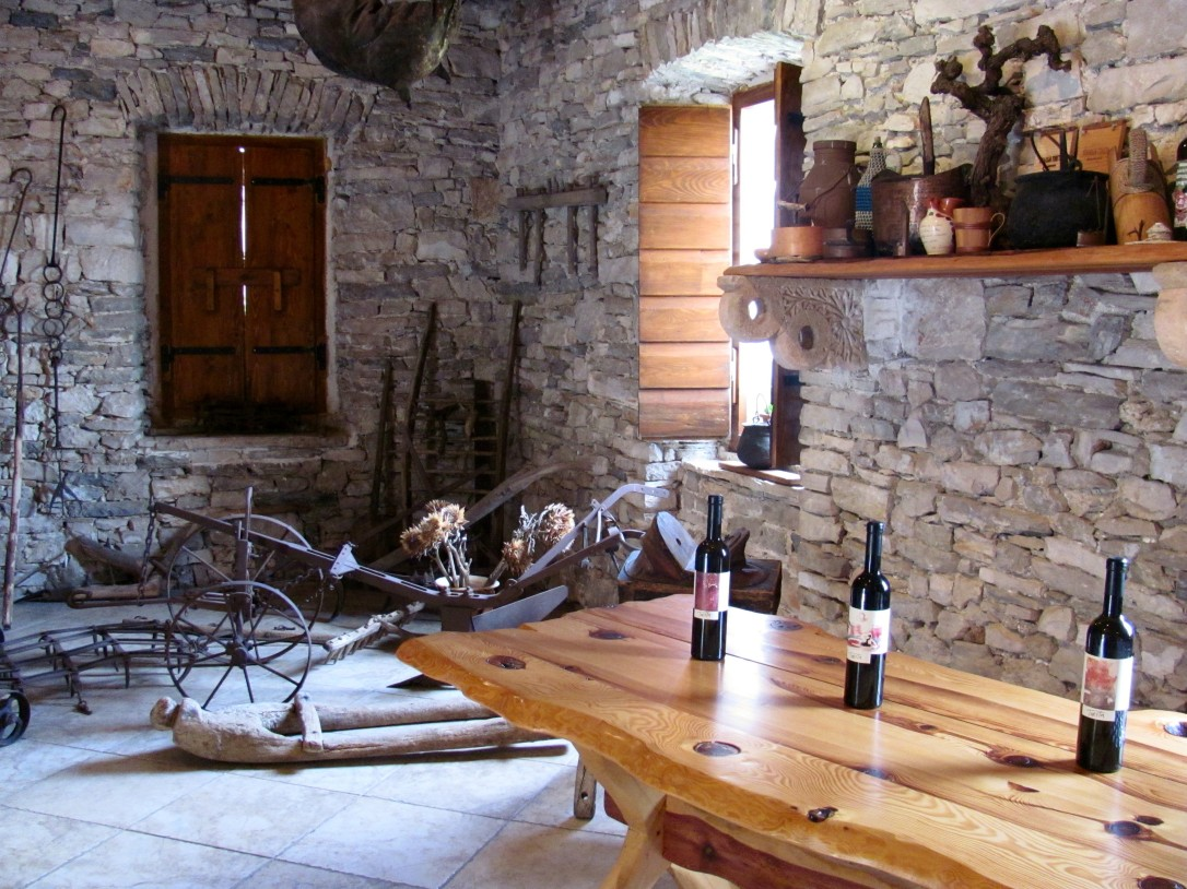 Toreta makes a number of wines - Posip, Rukatac, Plavc & Prosek