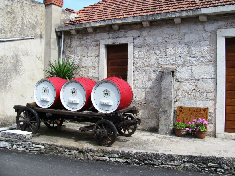 Toreta Winery & Museum in Smokvica, Korcula