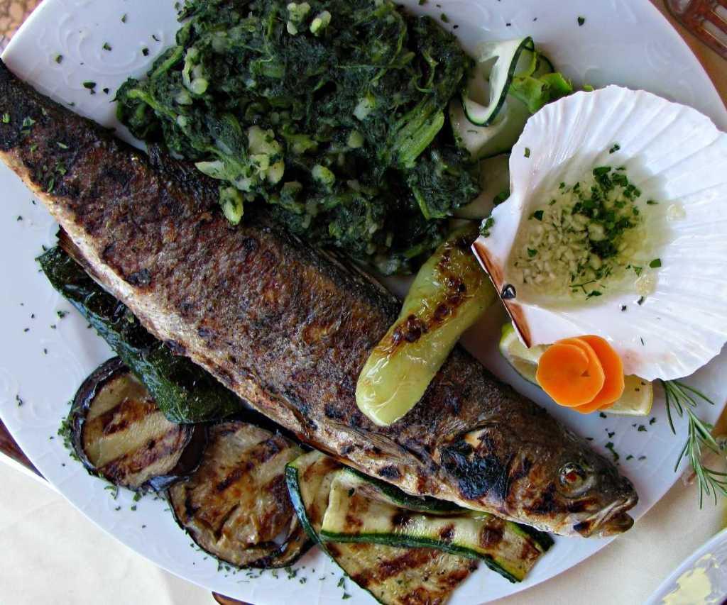 Enjoy fresh fish and seafood on Korcula Island, Croatia