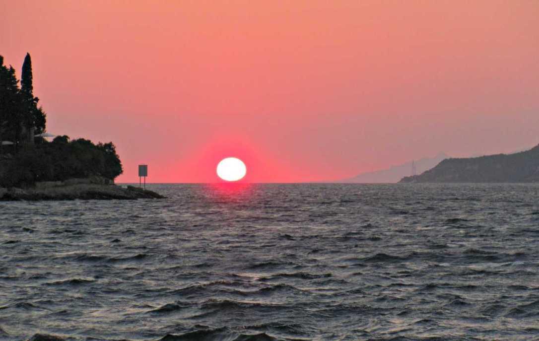 Sunsets on Korcula Island, Croatia