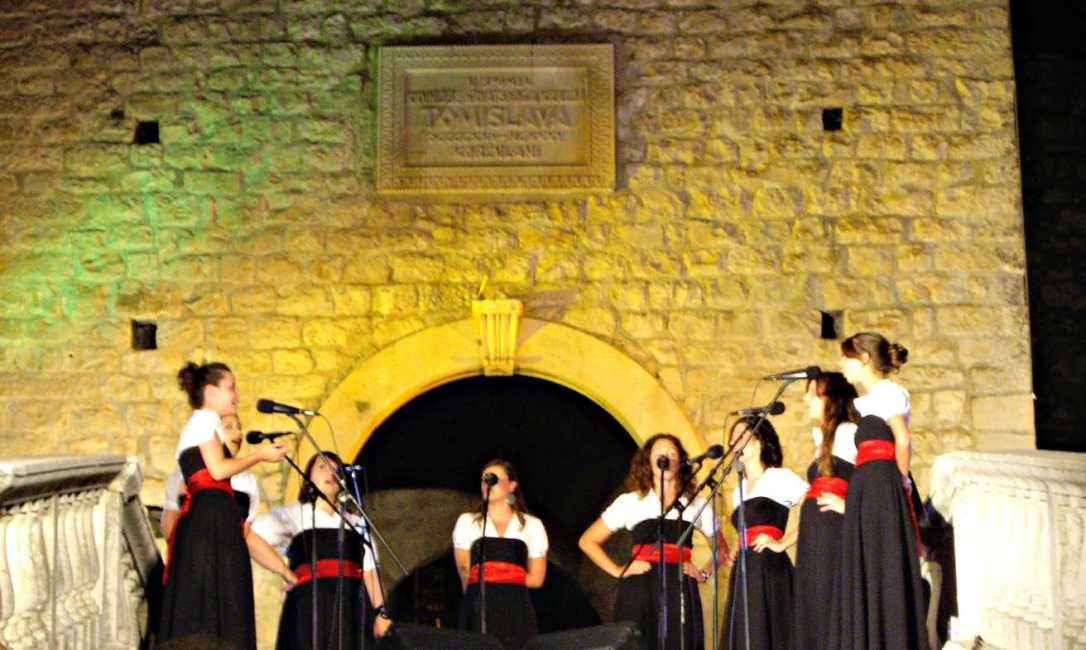 Klapa groups & live music on Korcula Island, Croatia