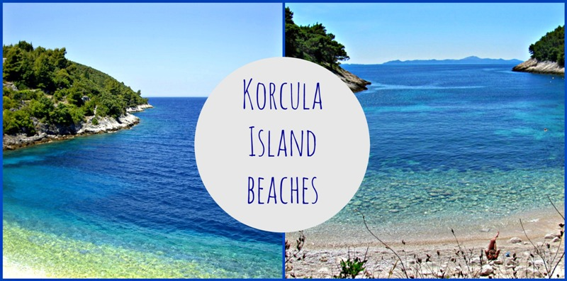 Beaches on Korcula Island