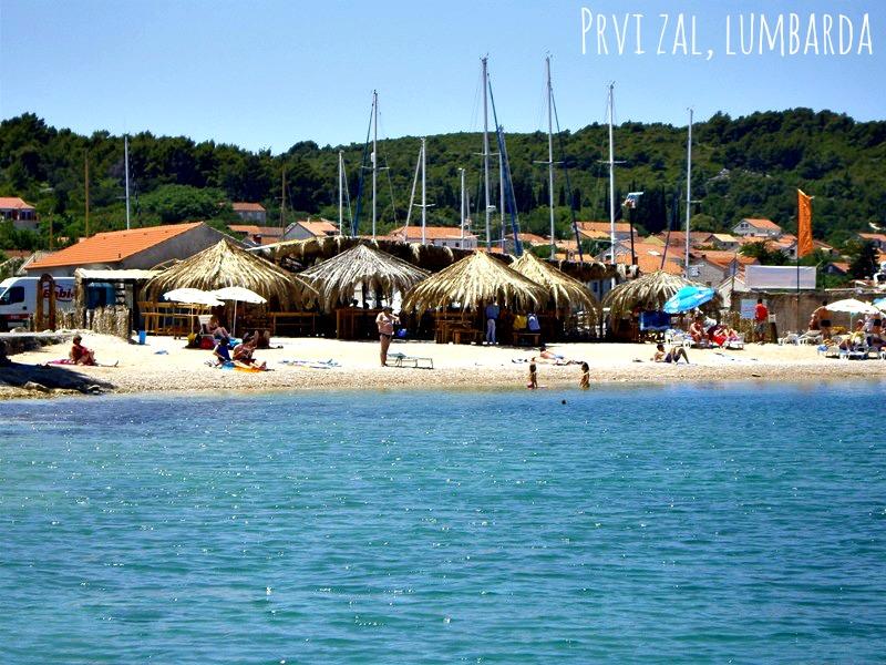 Cocktail Beach on Korcula Island - Prvi Zal in Lumbarda