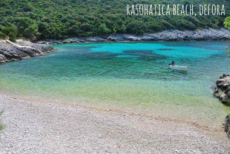 Hidden beaches on Korcula Island - Rasohatica Beach, Defora