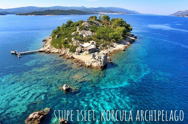 Stunning beaches on Korcula Island - Stupe Islet, Korcula Archipelago