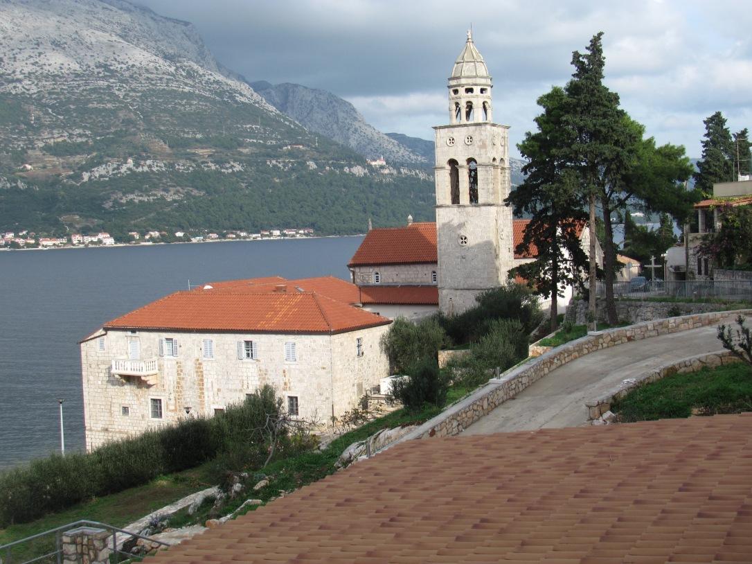Monastery in Korcula Town - Sveti Nikola, Korcula Island