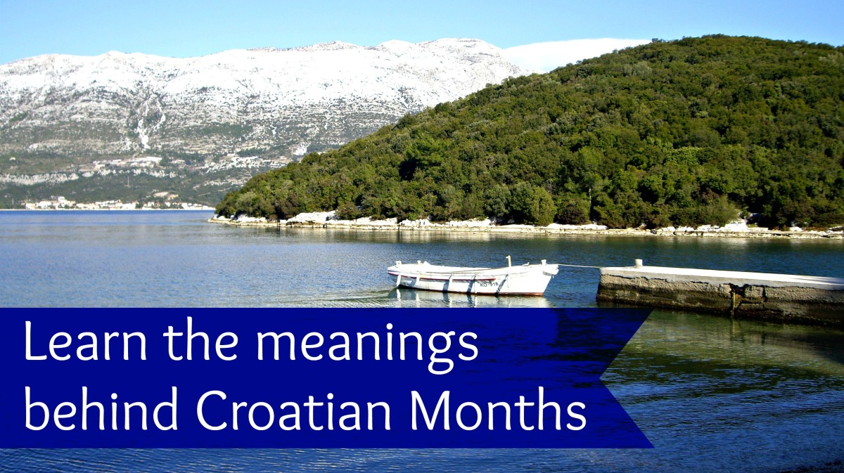 What's in a name? Croatian months of the year