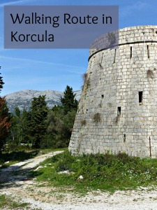 Pin for later - Walking Route in Korcula