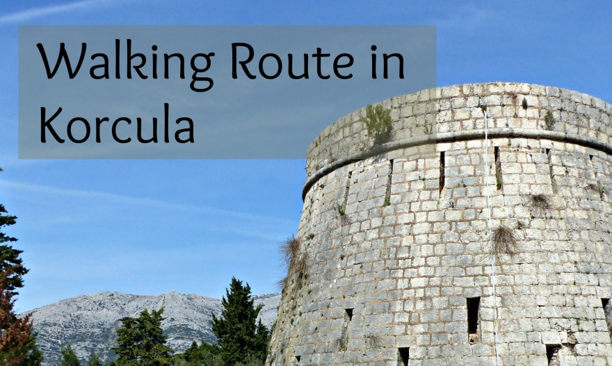 Wakling Route in Korcula Town