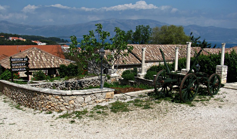 Wineries on Korcula Island