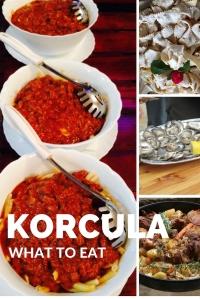 What to Eat on Korcula - Korcula Explorer
