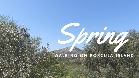 Spring on Korcula Island - Walking on Korcula