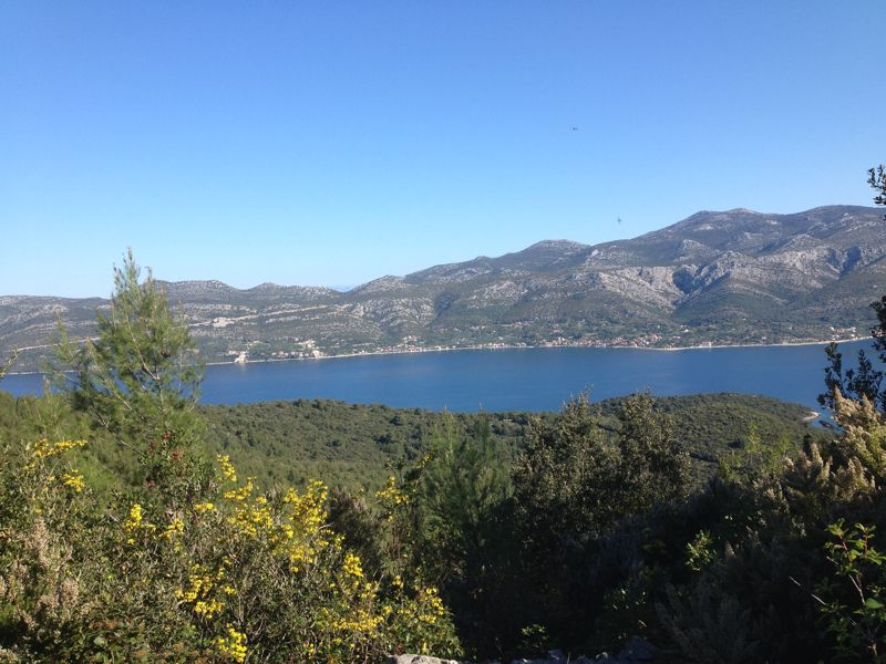 Panoramic & Viewspoints on Korcula Island - Route to Kocje