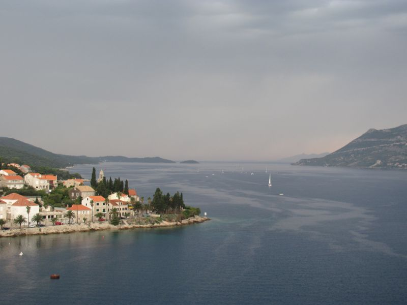 Panoramic & Viewspoints on Korcula Island - Bell Tower St Mark's Cathedral