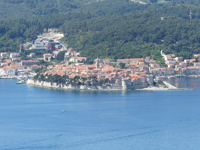 Panoramic & Viewspoints on Korcula Island