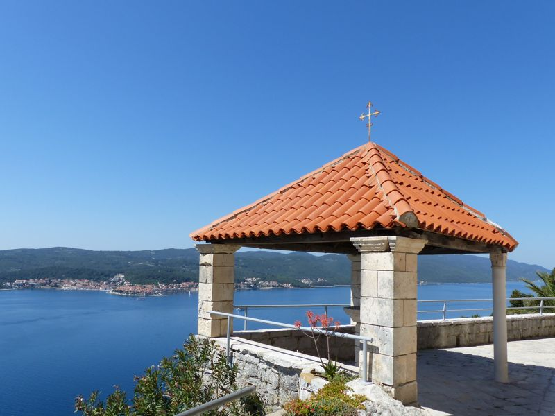 Panoramic & Viewspoints on Korcula Island - Views from Church of our Lady of Angels