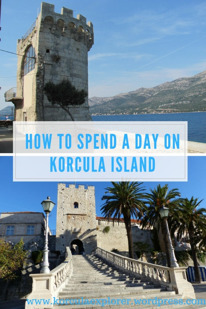 How to spend a day on Korcula - Tips for spending 24 hours on Korcula Island